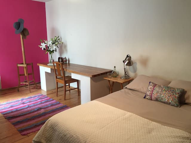 Chick-cozy Room with private bathroom in San Angel - Mexico City - Huis
