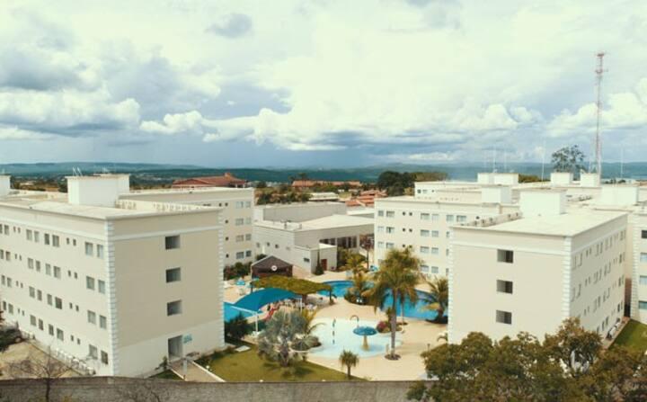 Apto em Encontro das Águas Thermas Resort
