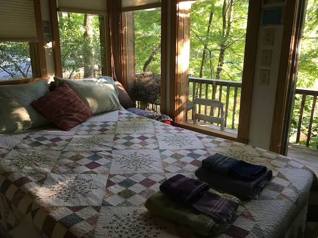 Room in Treetops on Dry Fork River