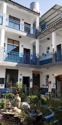 观景大床房,浪漫满屋,蓝色优雅~情侣的最佳选择