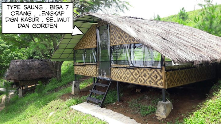Get Closer to Nature! VILLA K'BOEN QOE (Saung)
