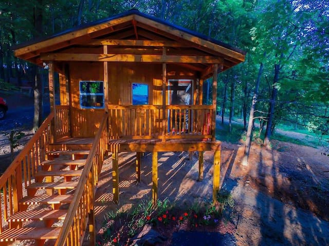 Foxtail Orchards Cabins and Campground - Tazewell - Sommerhus/hytte