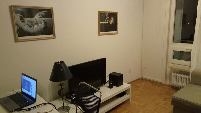 Cozy apartment less than 10 minutes to city center