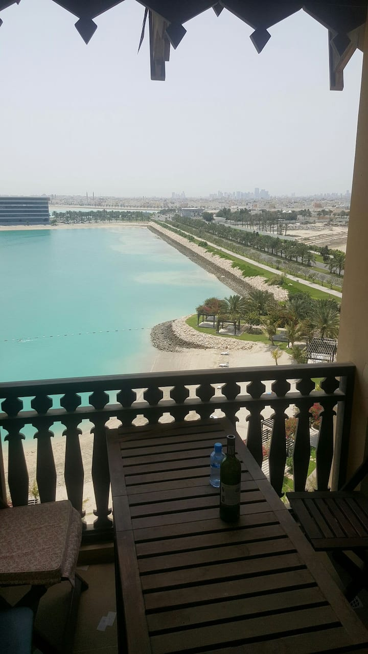 Best place in amwaj with sea view