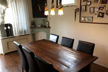 Ruim appartement, 2 slaapkamers, woon en eetkamer