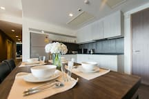 Fully equipped Kitchen for Memorable Family& Friends Meal