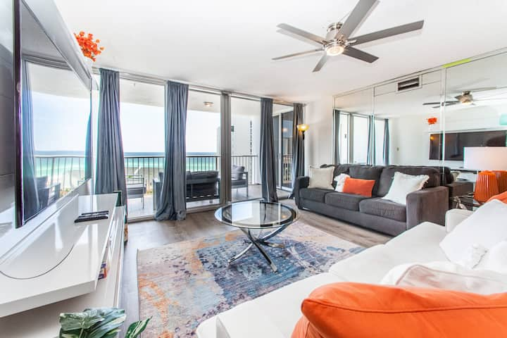 Tennis Courts☀️Gulf Views☀️Inspected & Disinfected☀️2BR Shoreline Towers 3083