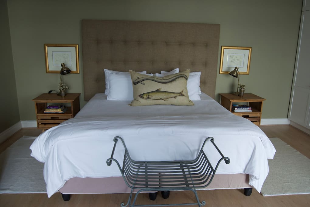 We get a lot of compliments about the comfort of our beds.  You are here to rest after all!