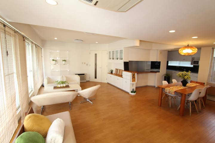 1500sqft,EntireApt! ExtremelyHuge&Cozy!FreeParking - Highshi-ku Hiroshima-city - Pis