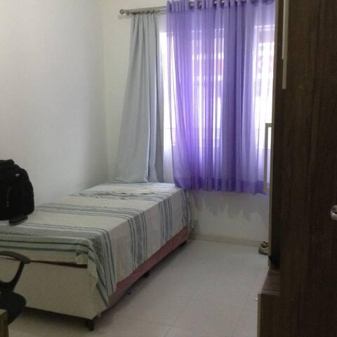 quarto 2 camas ou cama casal
