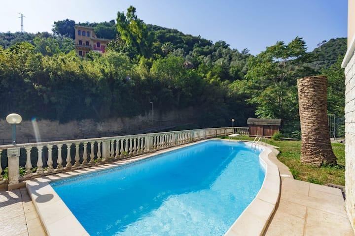 """BLU Room- B&B """"A Casa di Mila"""" - Sori, Liguria"""