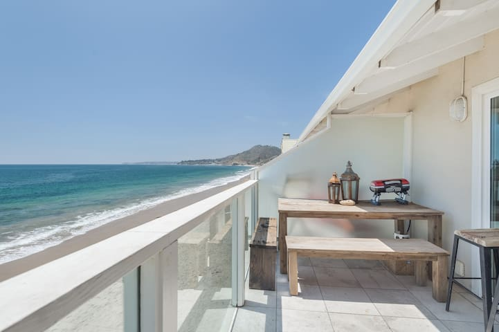 Sunrise Malibu Road Beachfront Penthouse celebrity