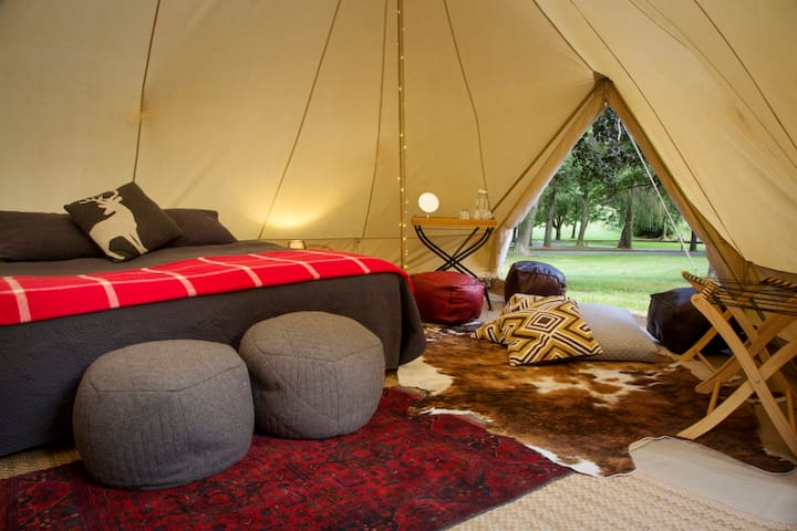 Amazing Glamping Bell Tents