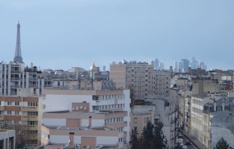 Appartements avec vue sur tout Paris