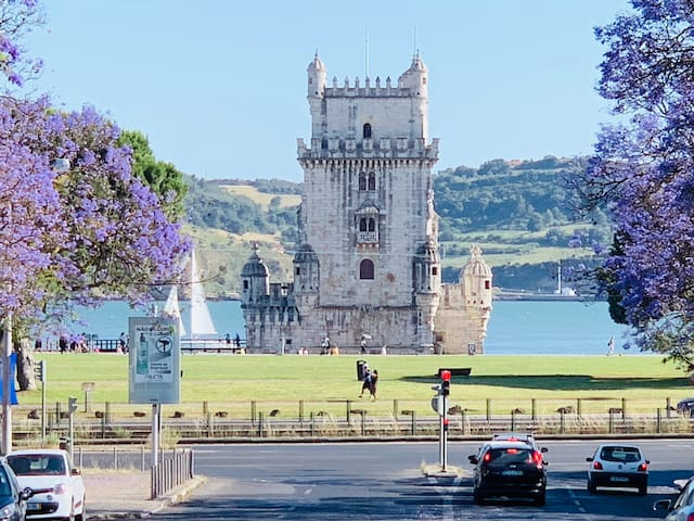 Belém tower flat