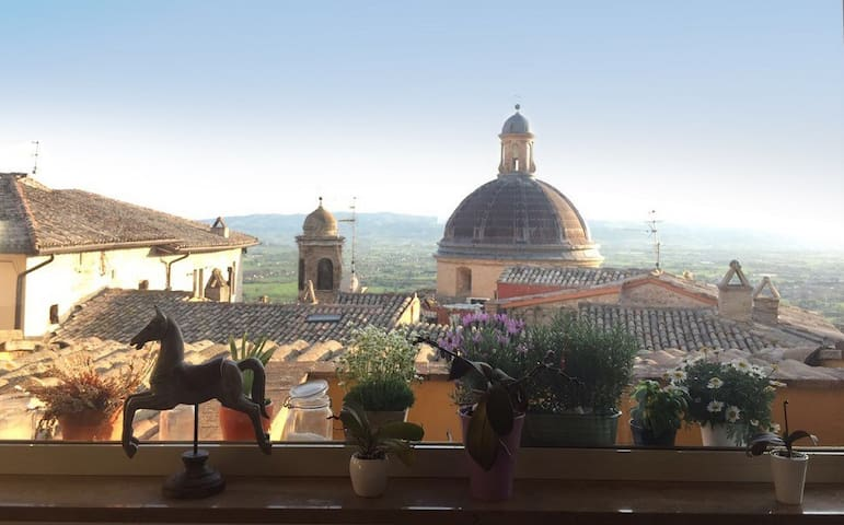 Apartment in the heart of Assisi - Assisi - Huoneisto
