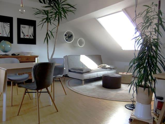 70 m² Wohnung mit Dachterrasse - Münster - Leilighet