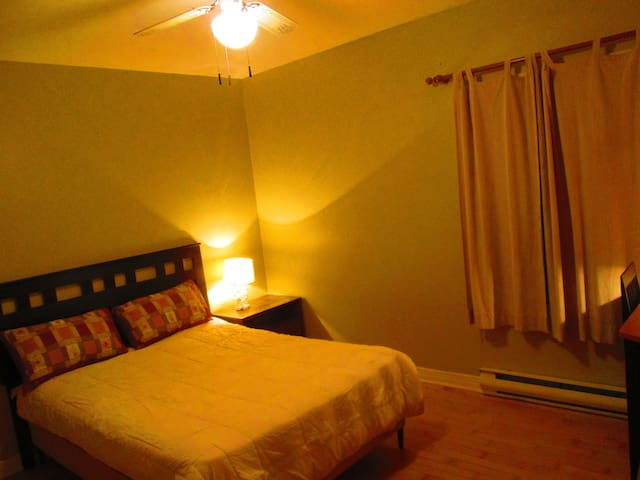 Large Cozy Bedroom in Quiet Residential Area - Laval - Daire