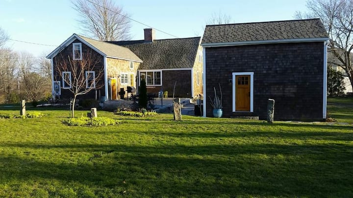 Potters Pond Cottage, walk to East Matunuck, MOB