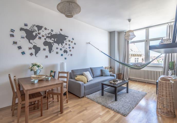 Designed apartment near city center