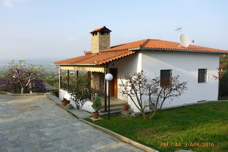 Our house on top of the hill... - Thessaloniki
