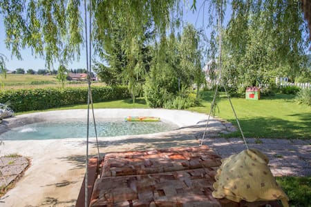 "Apartment with pool by the lake ""Šumski Dvori"""