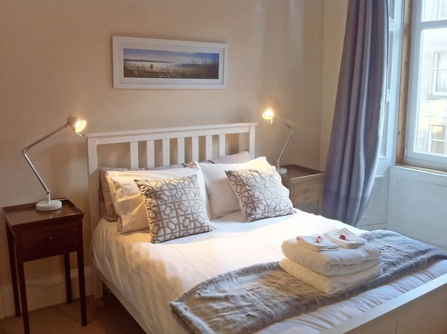 Spacious Double Room. Easy access – City & Airport - Edimburgo - Departamento