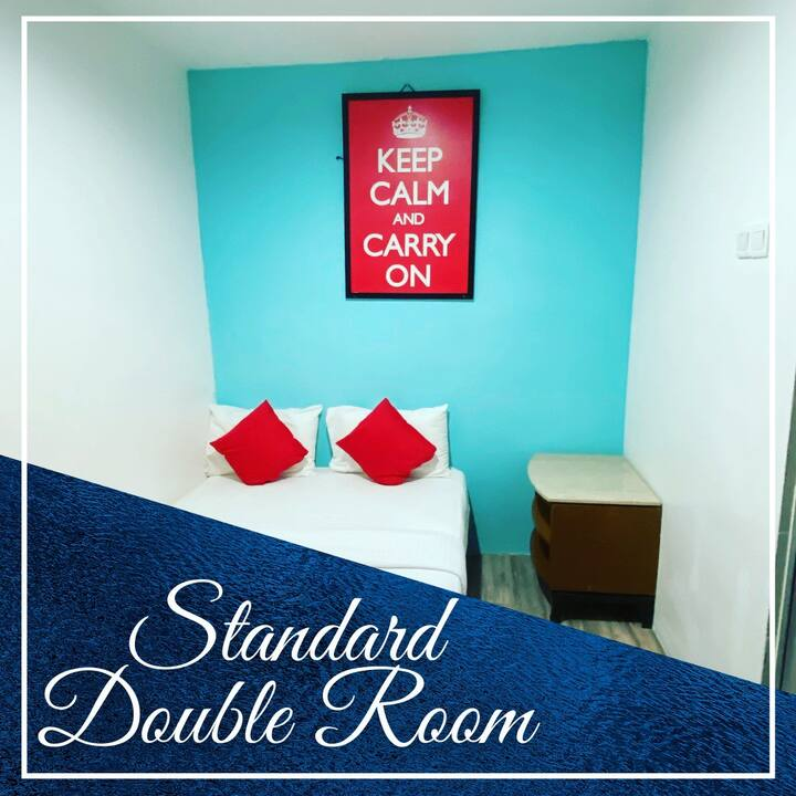 Hotel Aman Nilai / KLIA- Standard Double Room 2pax