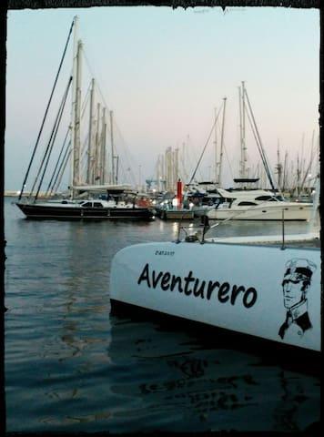 El puerto de Alicante.