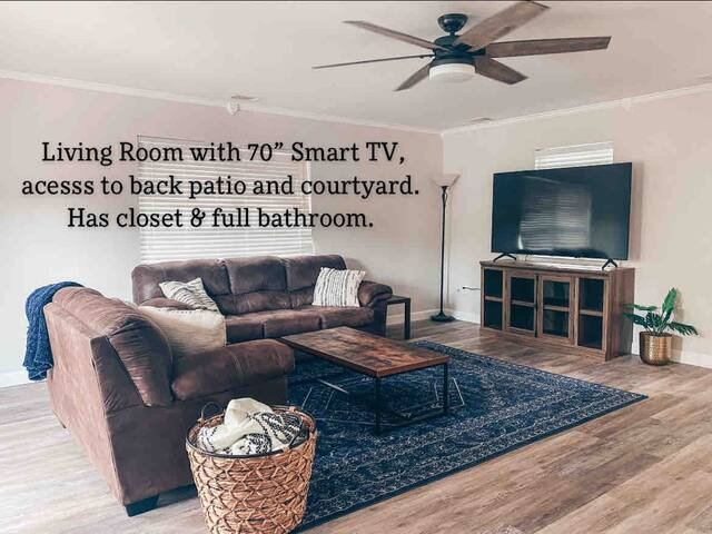 Lockout living room