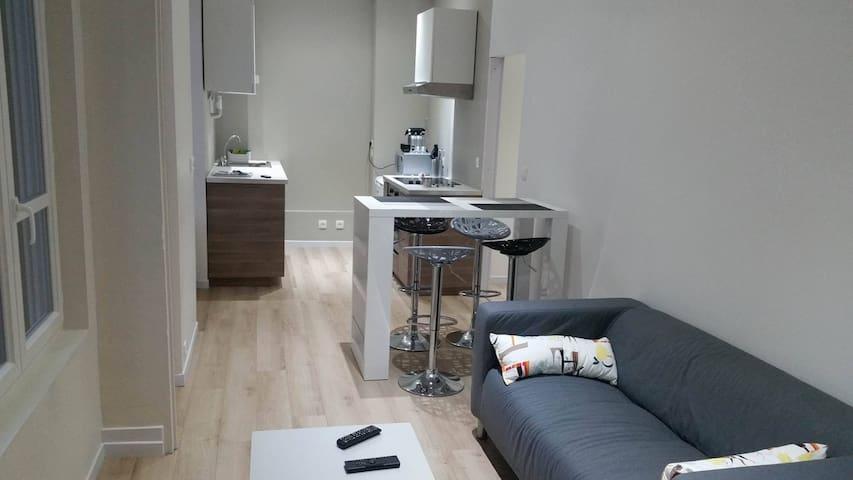 Chambre en plein centre ville - Saint-Étienne - Wohnung