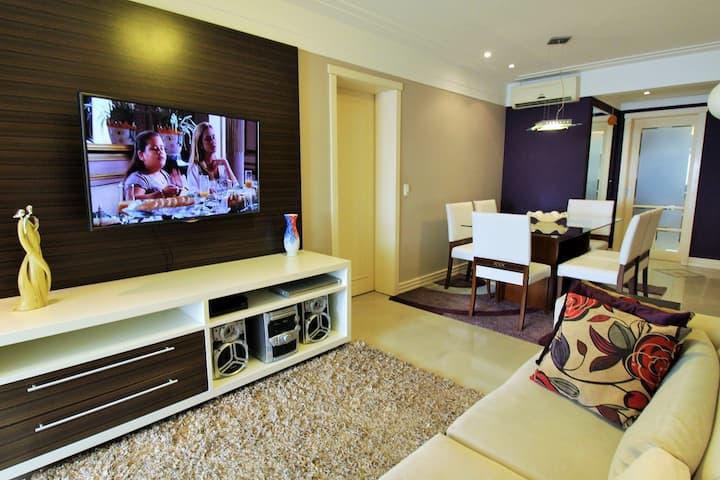 Apartamento moderno e espaçoso no melhor Bairro