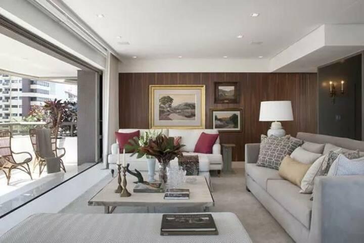 Apartamento pronto pra sua estadia super lindo