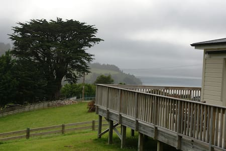 Good view and a tidy place in Deborah Bay - Mihiwaka - Apartment-Hotel