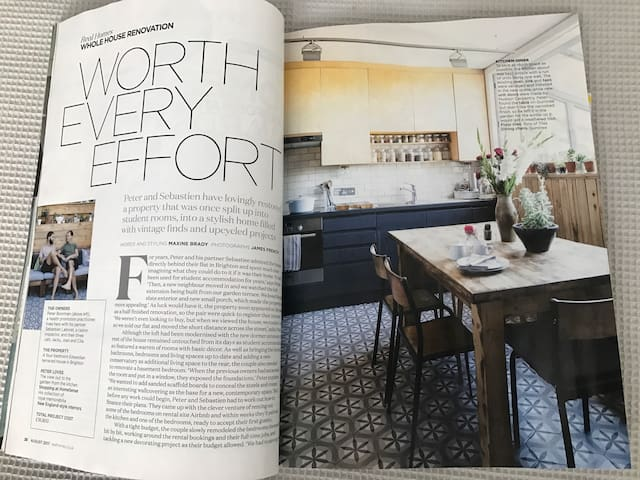 We feature in the August 17 edition of Real Homes magazine!