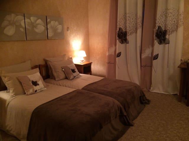 Domaine de Lascaux - Chambre 2 lits simples