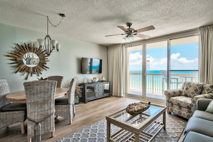 Pelican Beach, Gulf Front 10th Floor Updated Unit