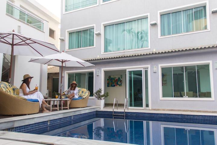 Beach house five rooms recreio dos bandeirantes - Rio de Janeiro - Casa