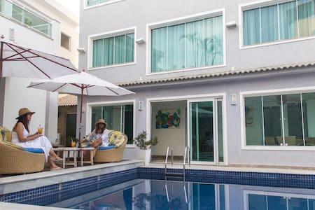 Beach house five rooms recreio dos bandeirantes - ริโอเดอจาเนโร - บ้าน