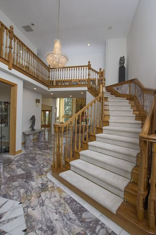Grand Front Staircase