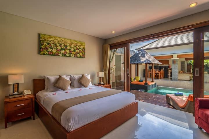Comfortable 2Bedroom Pool Villa in Tanah Lot