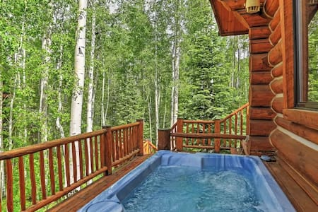 Ski-In/Ski-Out 4BR Telluride Log Home - Mountain Village