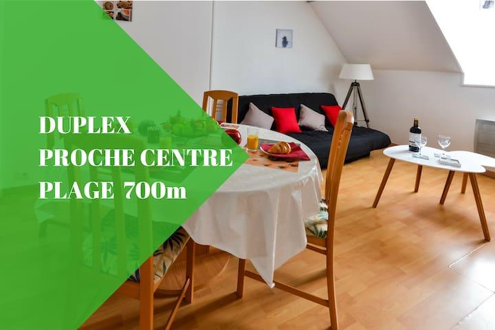 Duplex du Pollet, 500 mètres centre Dieppe