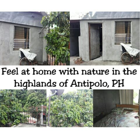 Feel at home in a space in nature