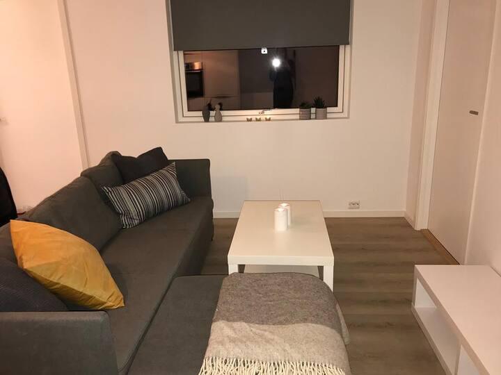 Ny og praktisk leilighet sentralt i Kristiansand