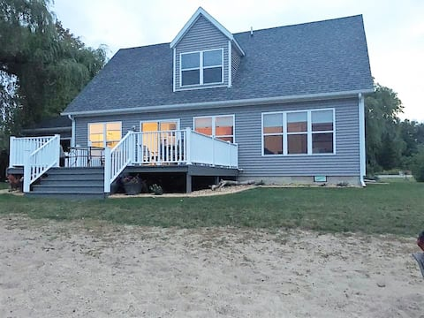 Blood pressure cure; Harbor Beach beachfront home