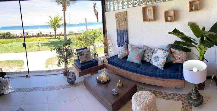 Beach House with Stunning Ocean View Buzios
