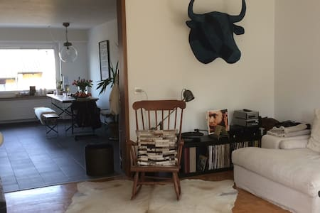Beautiful, welcoming and spacious apartment - Bienne - Lägenhet