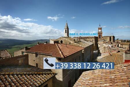 B&B IL ROSSELLINO CITY VIEW - CAMERA BAGNO ESTERNO - Bed & Breakfast