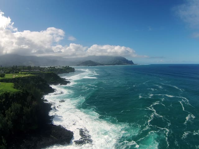 Aloha Nui Loa Room in Princeville - Princeville - Daire